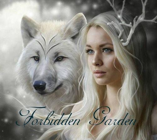 Картинки с надписями Forbidden Garden
